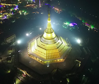 Pagoda Arial View